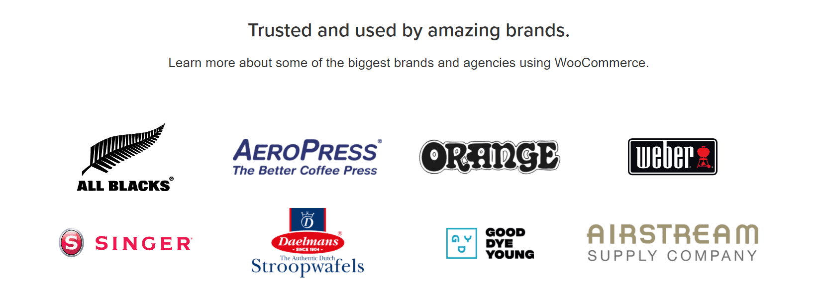 WooCommerce Trusted Brands