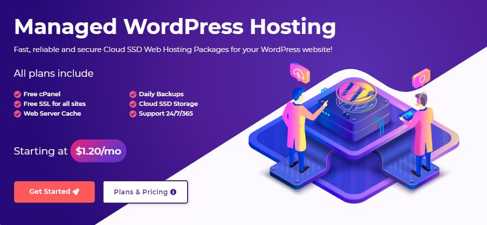 HostArmada WordPress Hosting and dedicated server
