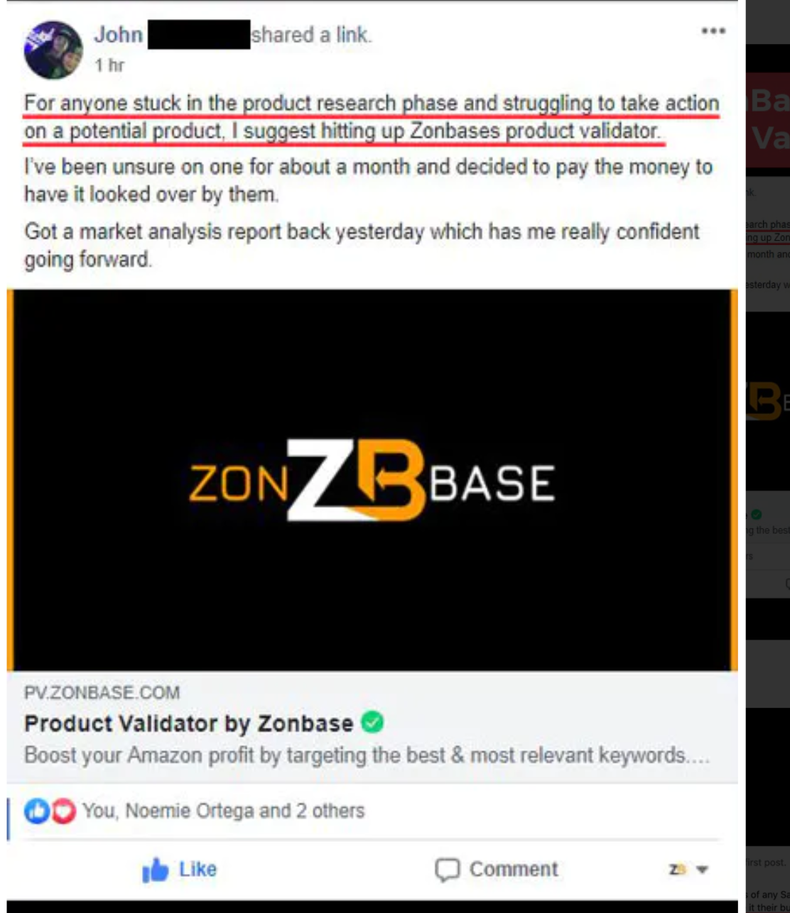 Zonbase products