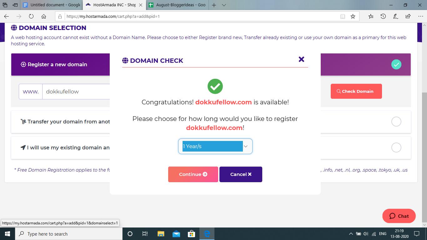 Successful Register