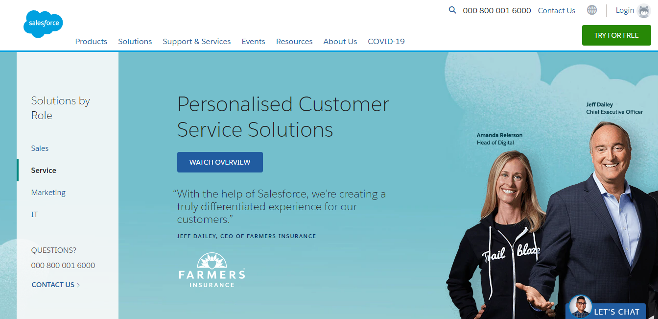 salesforce customer support