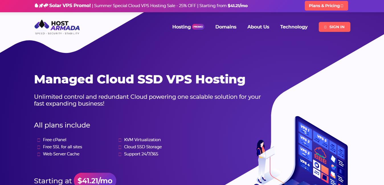 HostArmada VPS hosting Review