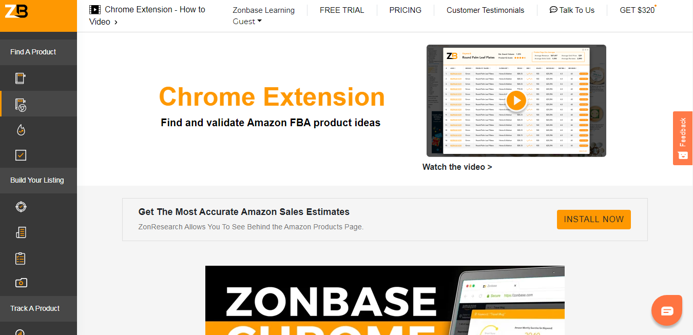 zonbase Extension