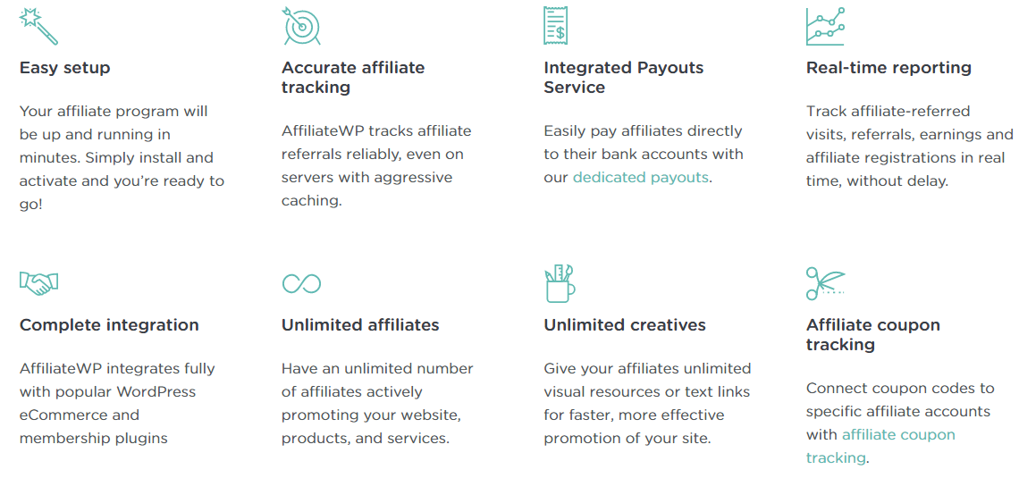 AffiliateWP-Features