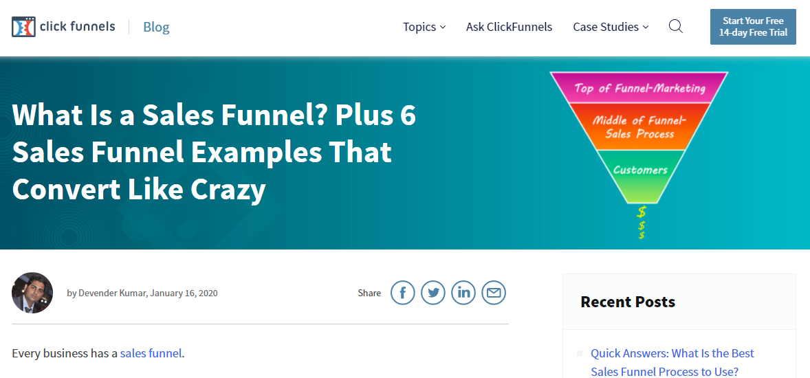 Clickfunnel salesfunnel