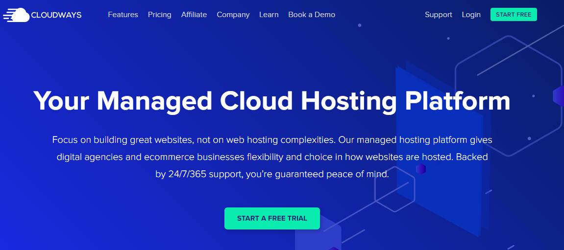 Cloudways vs WPMU OverDEV - Cloudways Overview