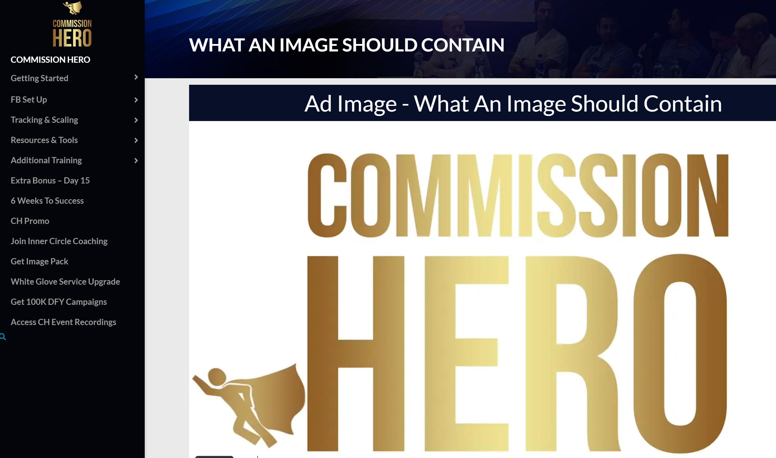 Commission Hero Account