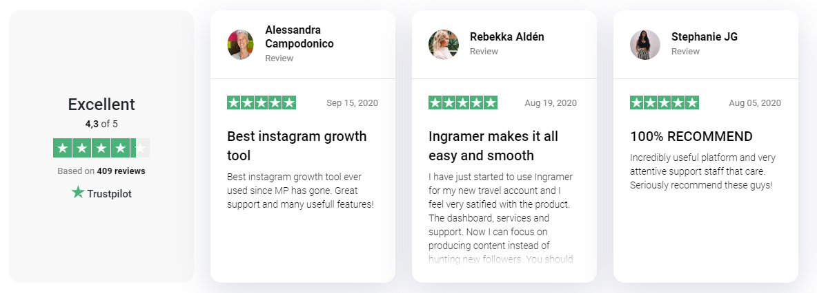 Ingramer - Reviews & Testimonials