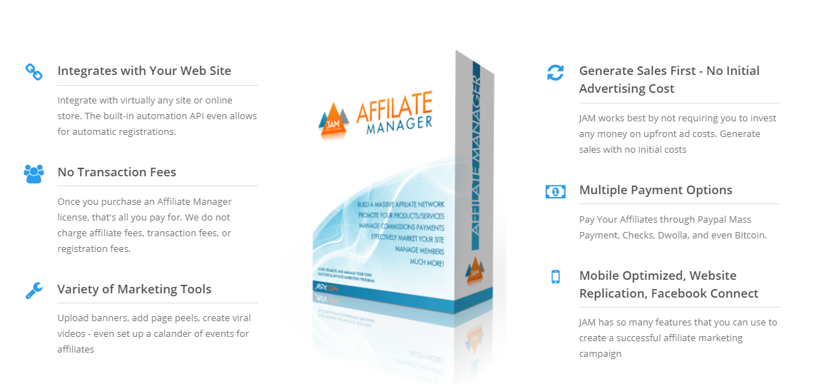 Jrox vs AffiliateWP affiliate manager - Features