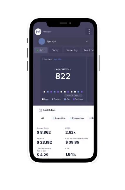 Madgicx Mobile-App