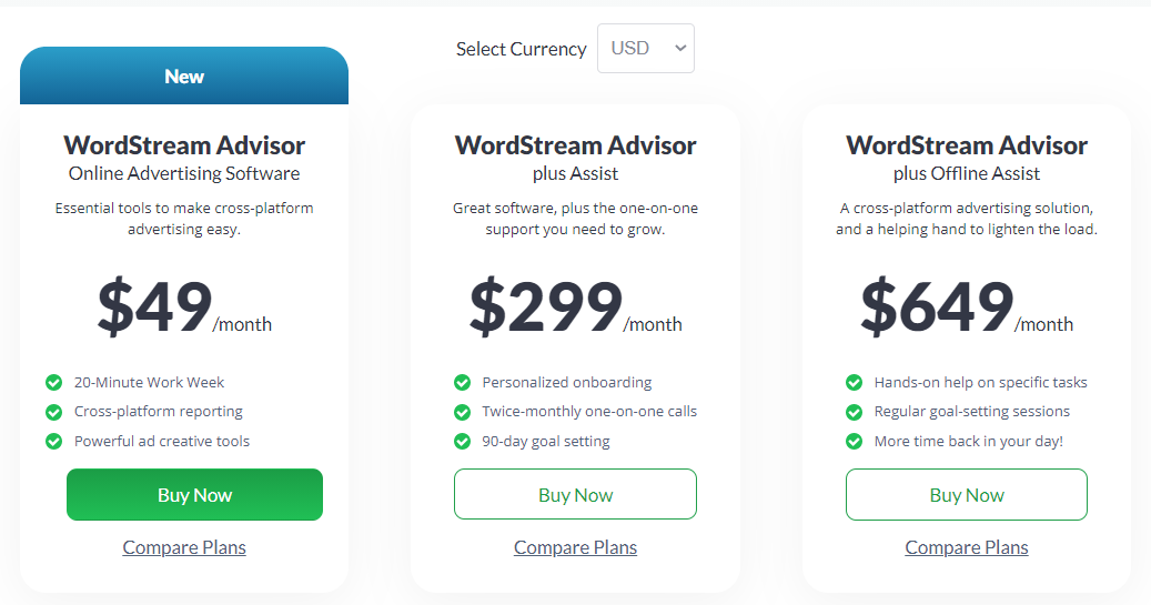 Pricing-WordStream