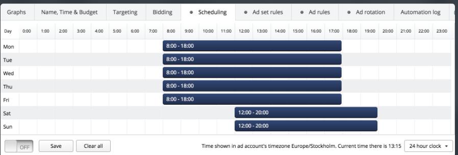 Qwaya- Scheduling