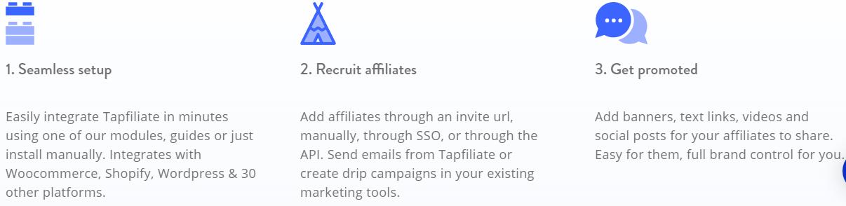 AffiliateWp vs Tapfiliate-Features