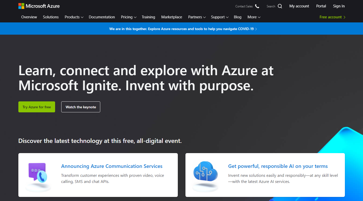 UpCloud VS Azure - Azure Overview