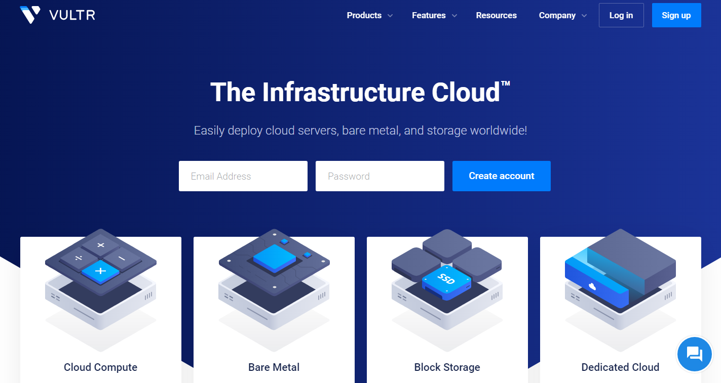UpCloud VS Vultr - Vultr Overview