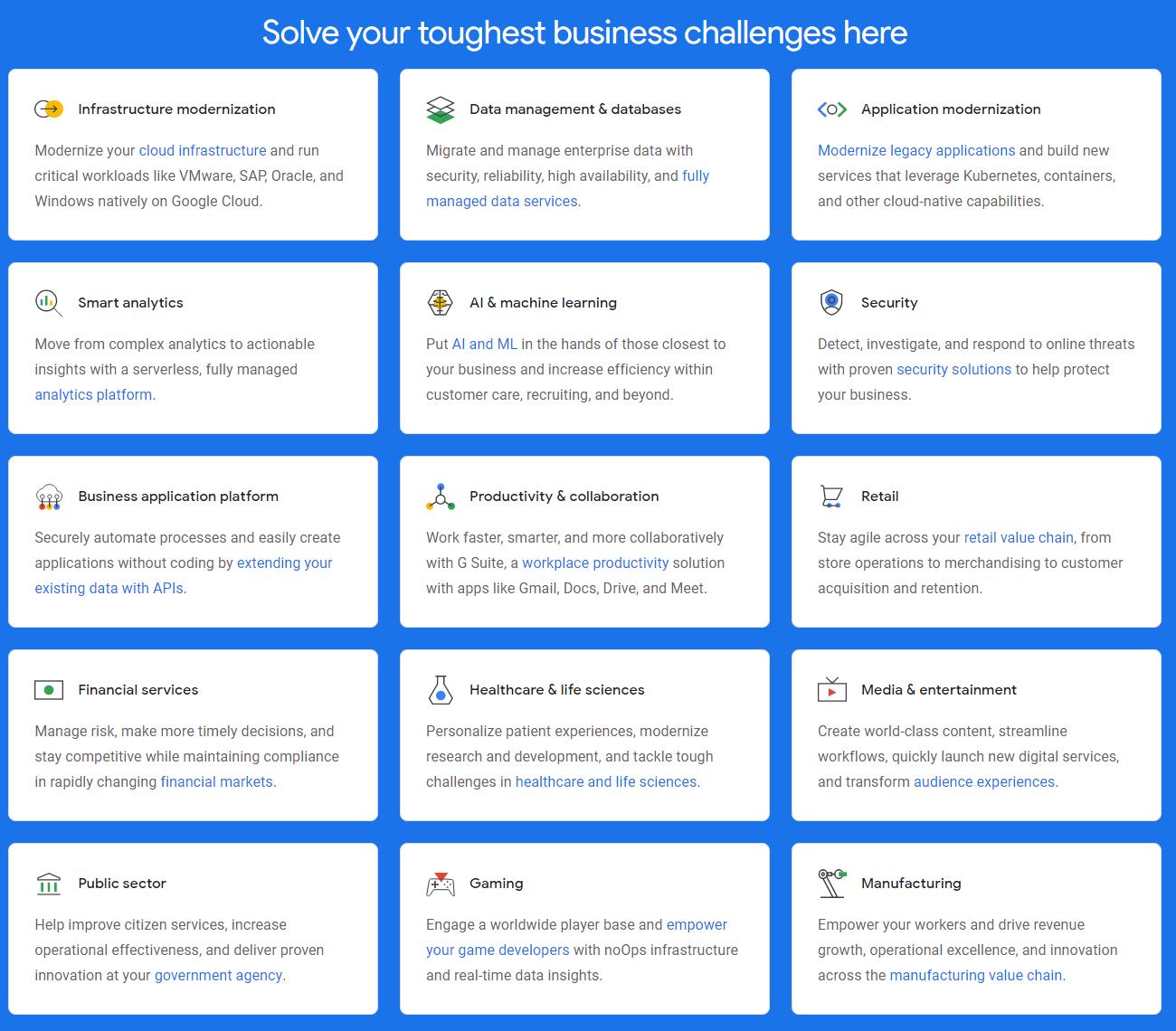 Upcloud vs Google Cloud Platform - Google Cloud Platform Features