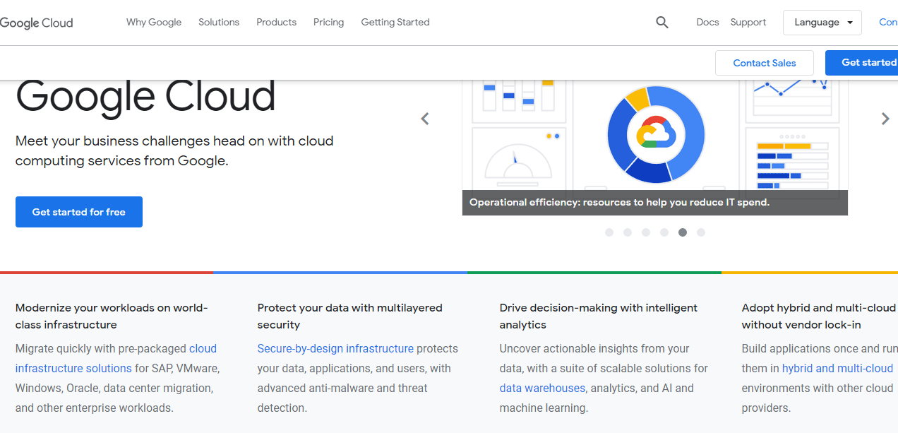 Upcloud vs Google Cloud Platform - Google Cloud Platform Overview