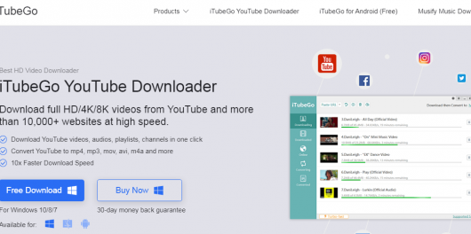 iTubeGo-YouTube-Downloader
