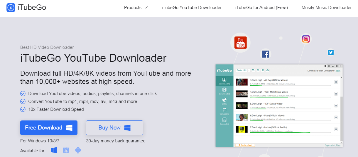 iTubeGo-YouTube-Downloader Review
