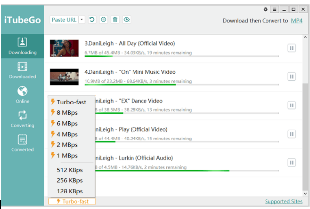 iTubego-Youtube-Downloader-10x Faster