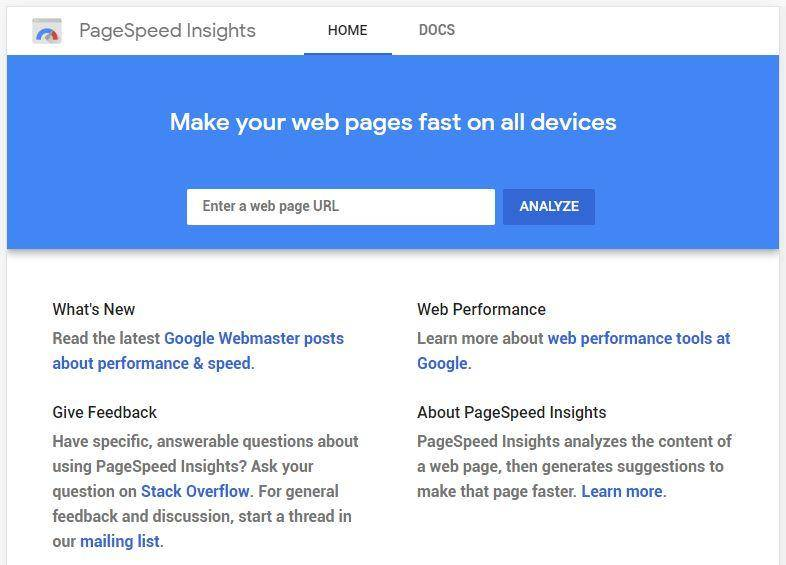 Google-page-speed-insights-seo