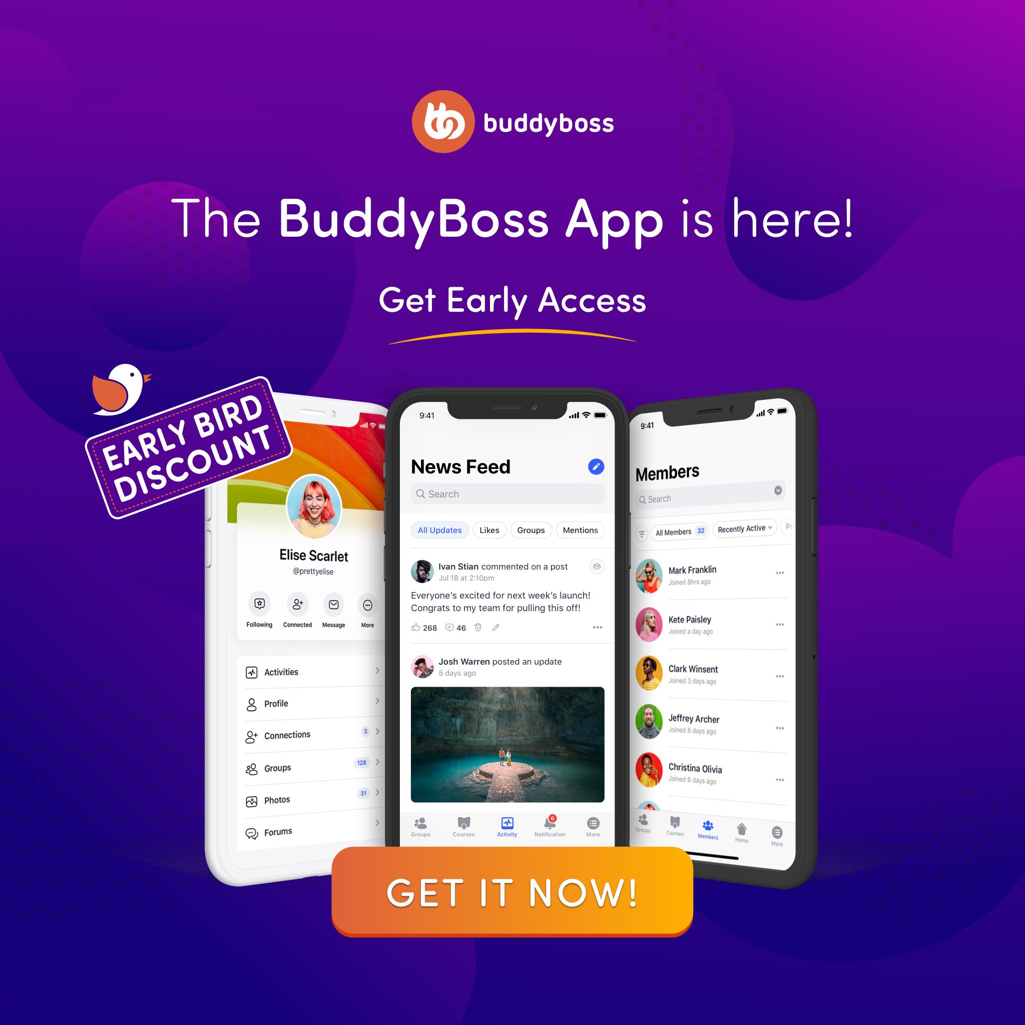 Buddyboss App lifetime offer