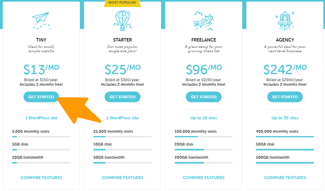 Flywheel- Pricing