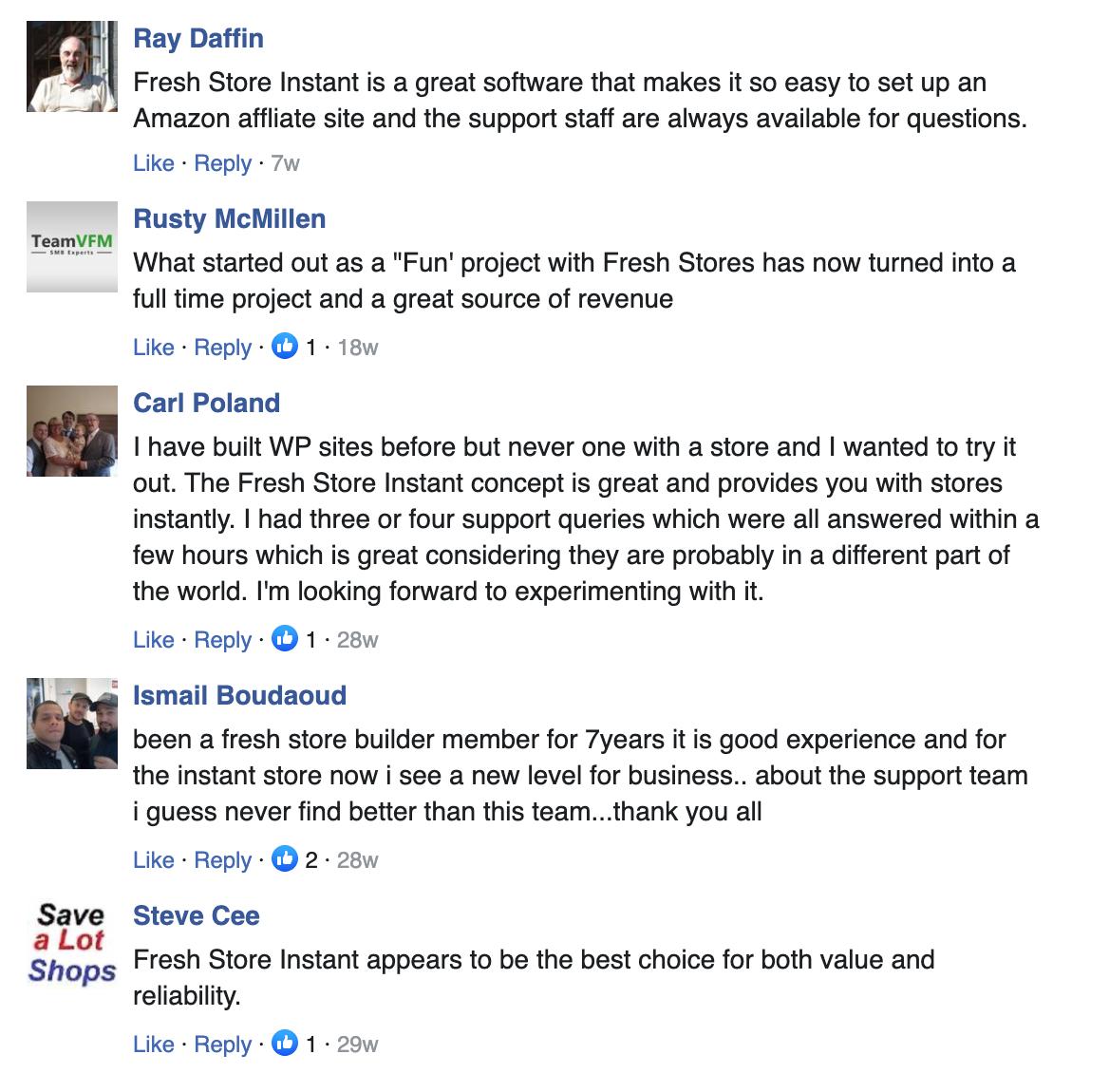 Fresh Store Builder Reviews