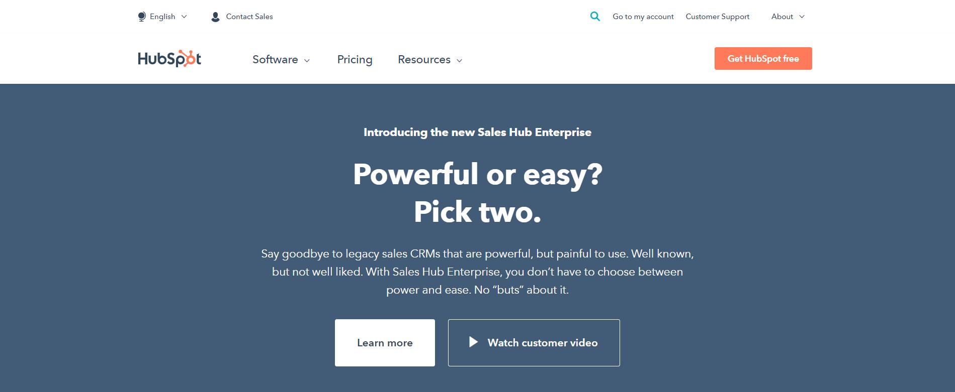 Hubspot-Overview- Engagebay vs Hubspot