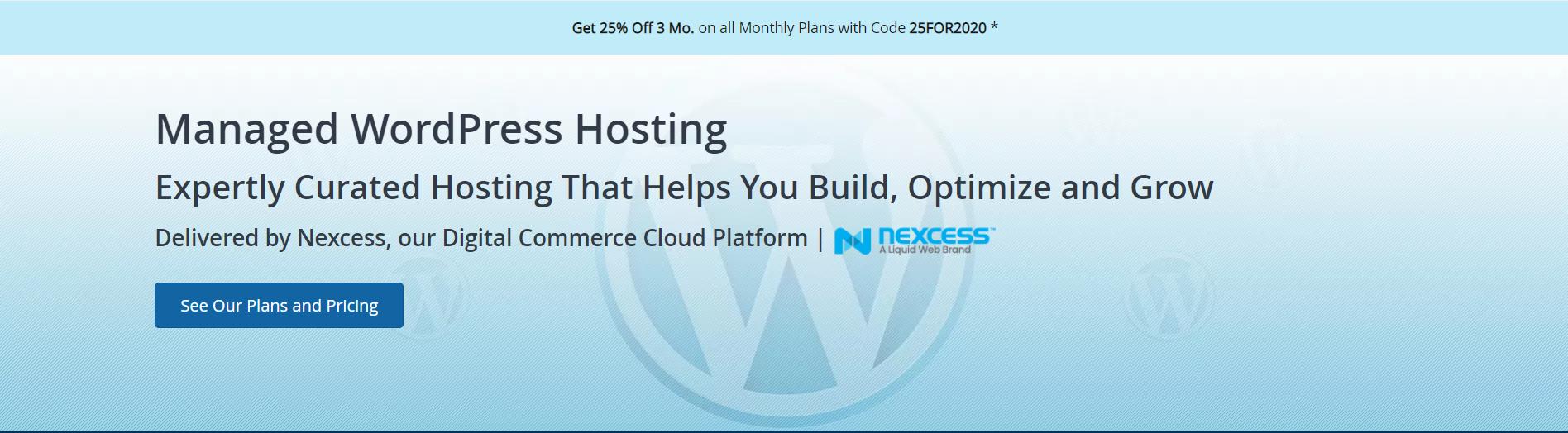 Liquidweb-WordPress Hosting