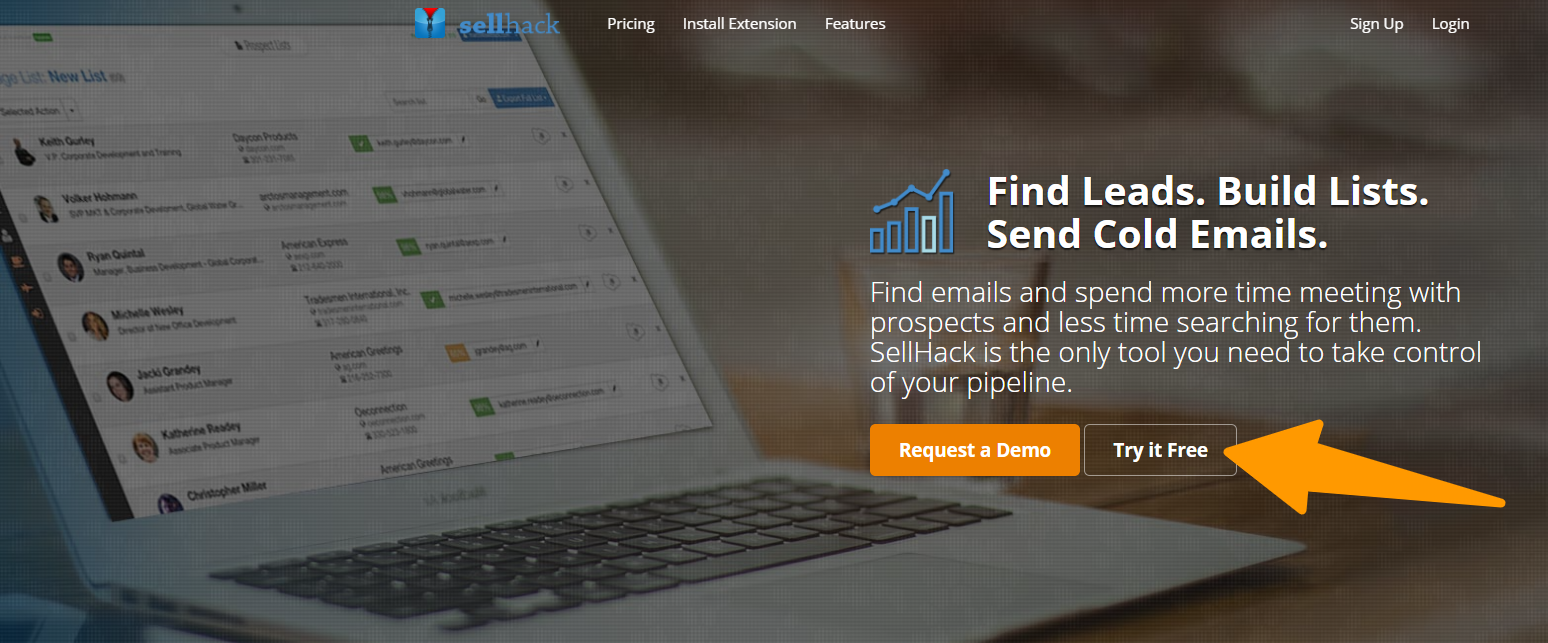 SellHack-Find-Emails