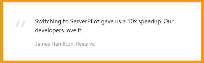 ServerPilot - Testimonials