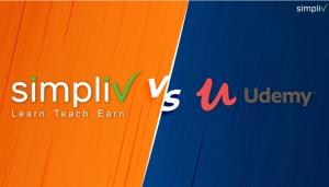 Simpliv-Learning-Vs-Udemy