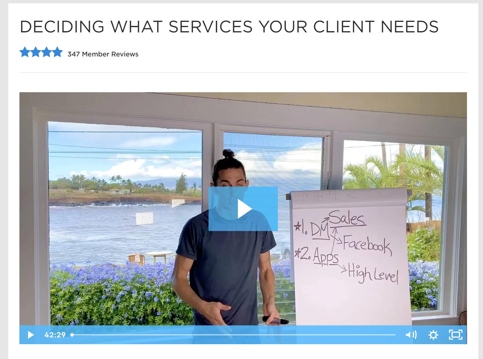 Tai Lopez Client reviews