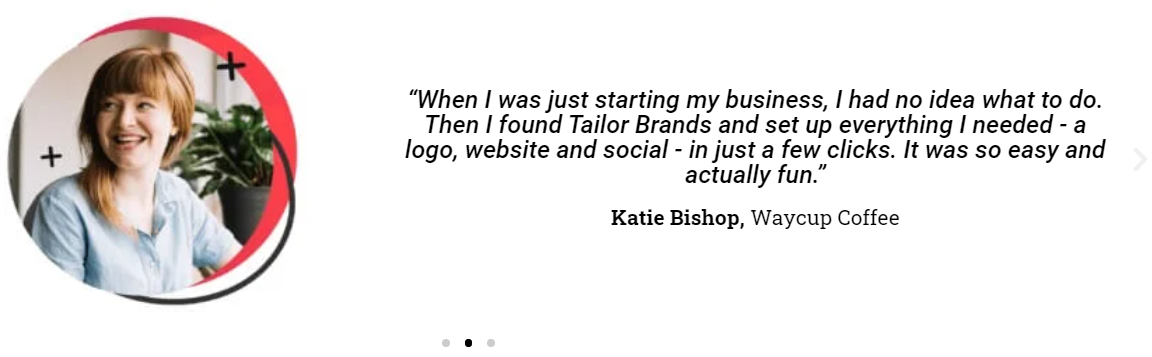 Tailor Brands-Customer Review