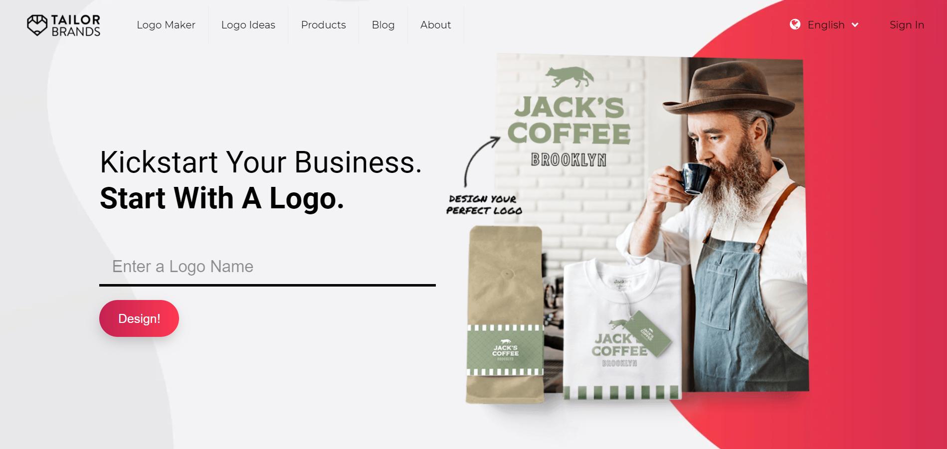 Tailor Brands- Best Logo Maker Online