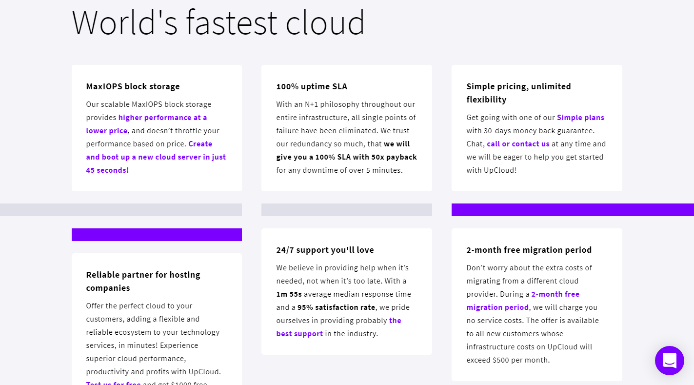 UpCloud Review - What UpCloud cater to