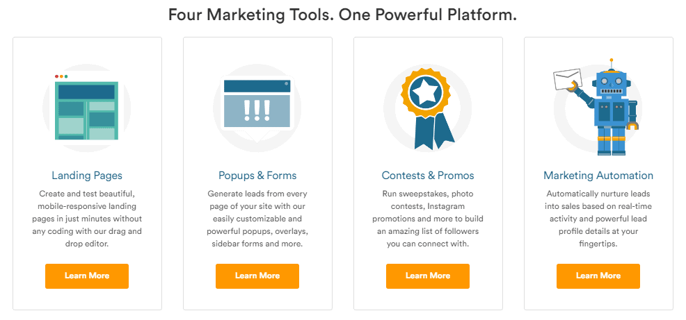 Wishpond Features Marketing-Made-Simple