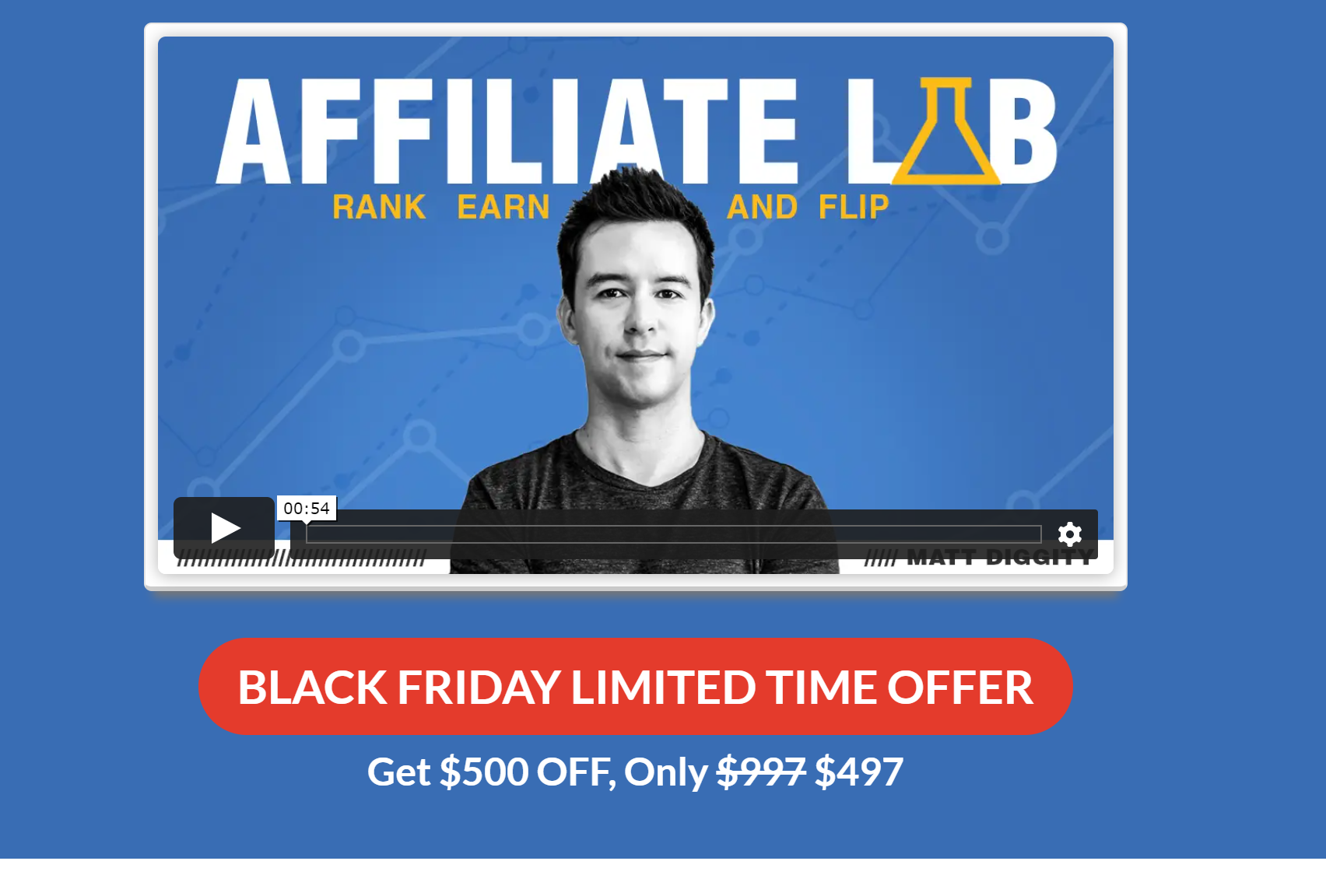 Affiliate lab black friday cyber monday sale