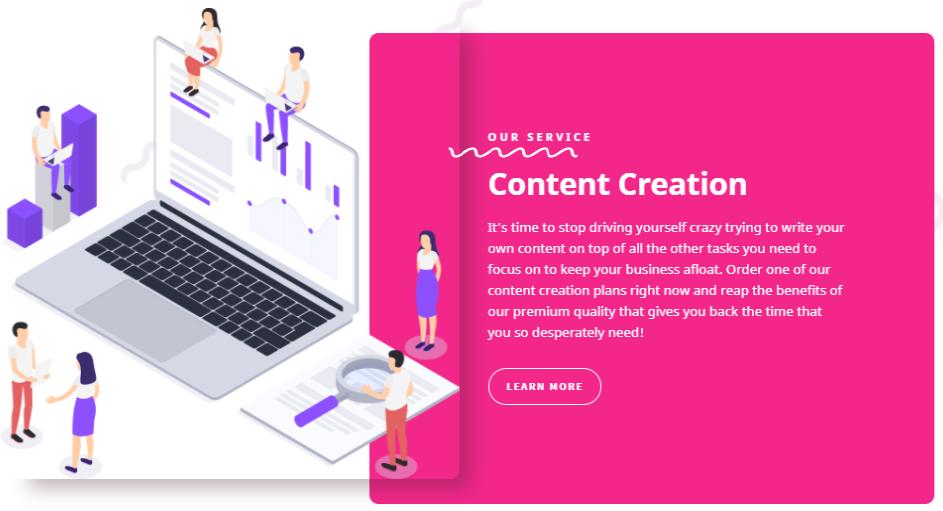 BrandBuilders- Ecommerce Business Content Creation