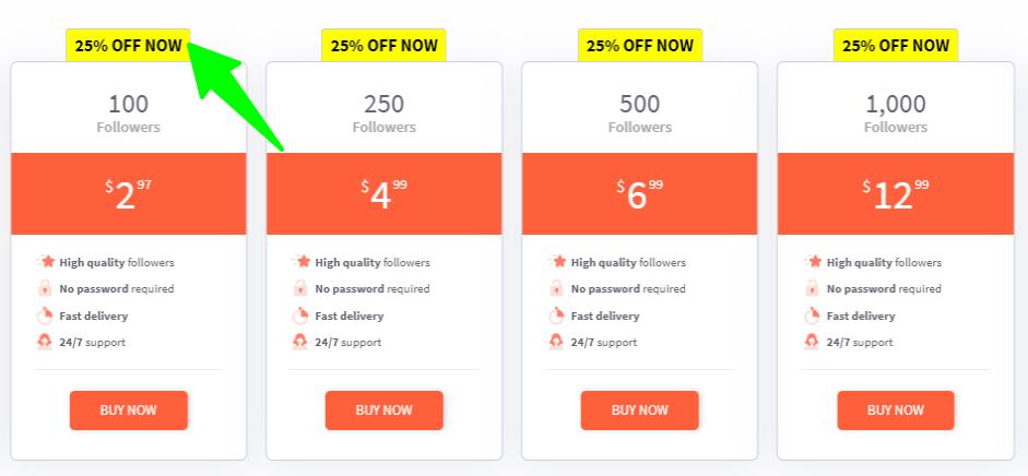 Buzzoid - Pricing