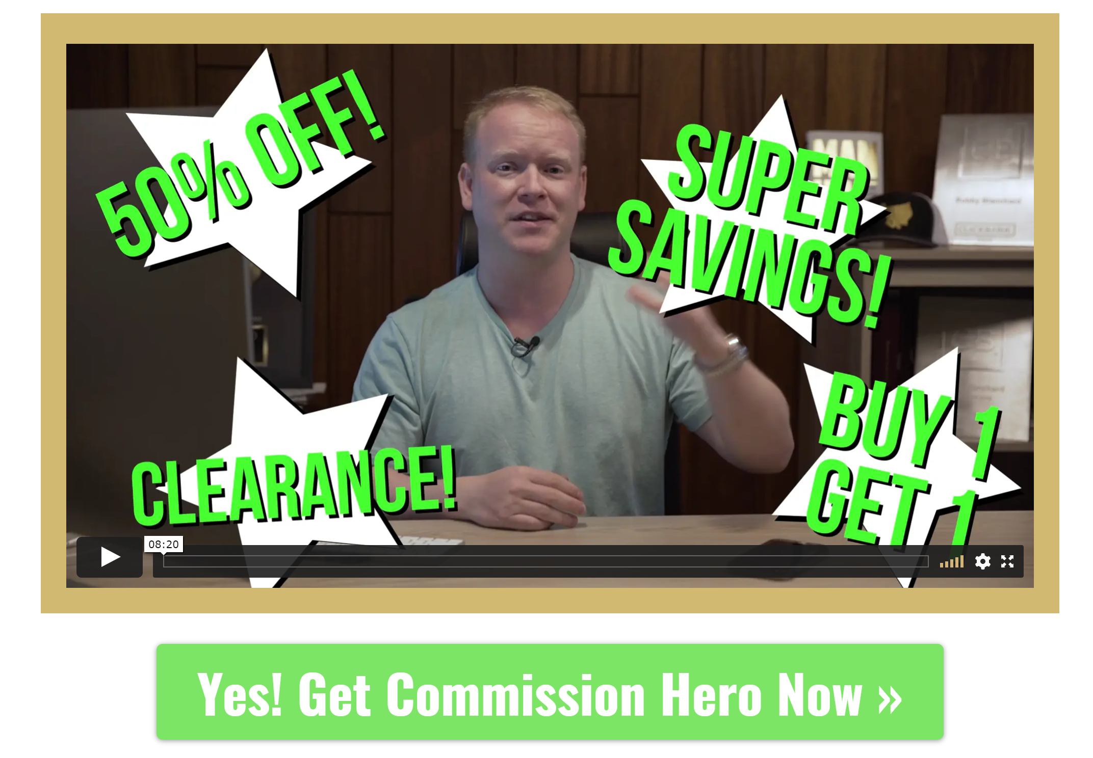 Commission Hero Black Friday Deals