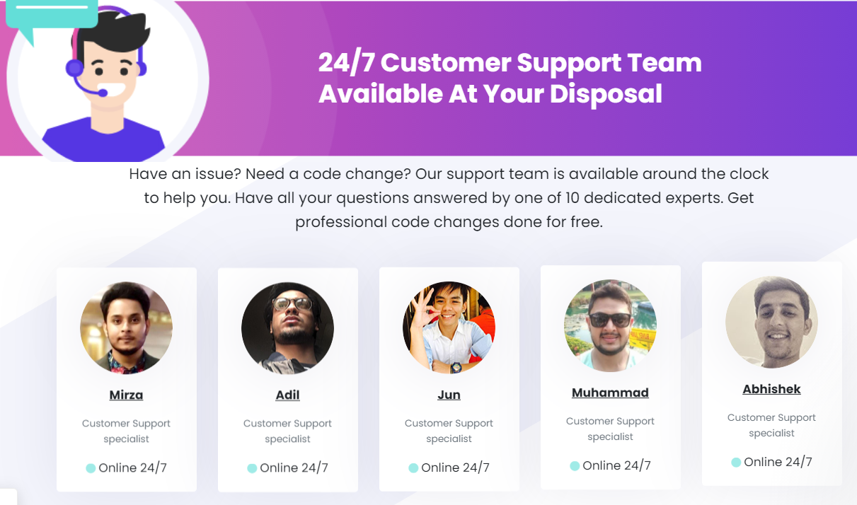 Debutify-Customer Support