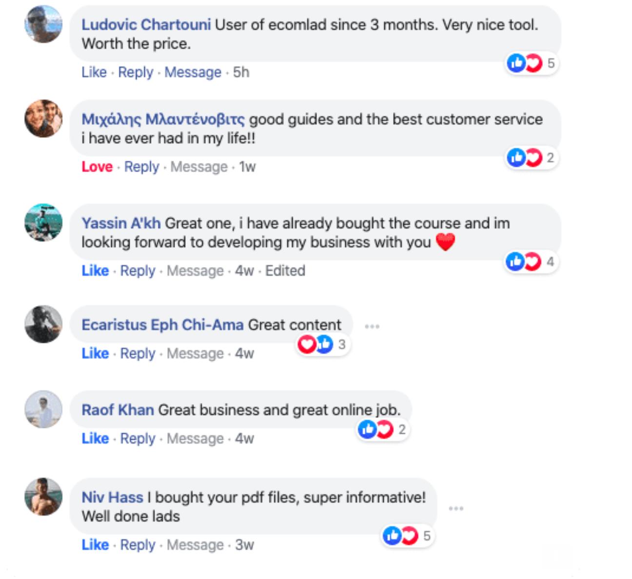 Ecomlad-Customers