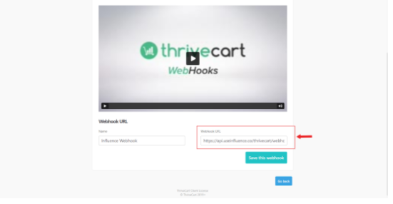 How-Can-You-Integrate-Everything-with-ThriveCart- Webhook URL