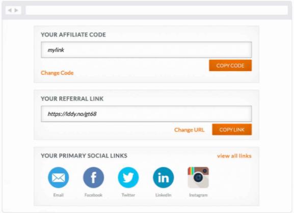LeadDyno-Easy-Affiliate-Tracking- Affiliate Code