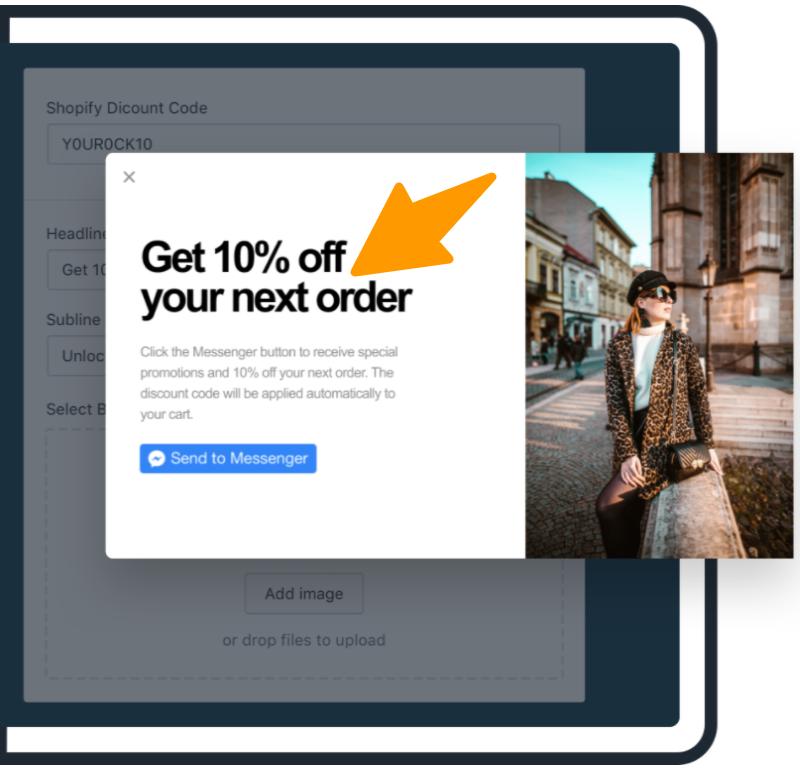 Maxwell-Facebook-Messenger-Marketing Tool Messenger Button