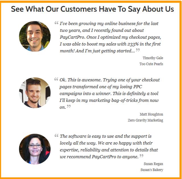 PayCartPro-Online-Payments- Testimonials