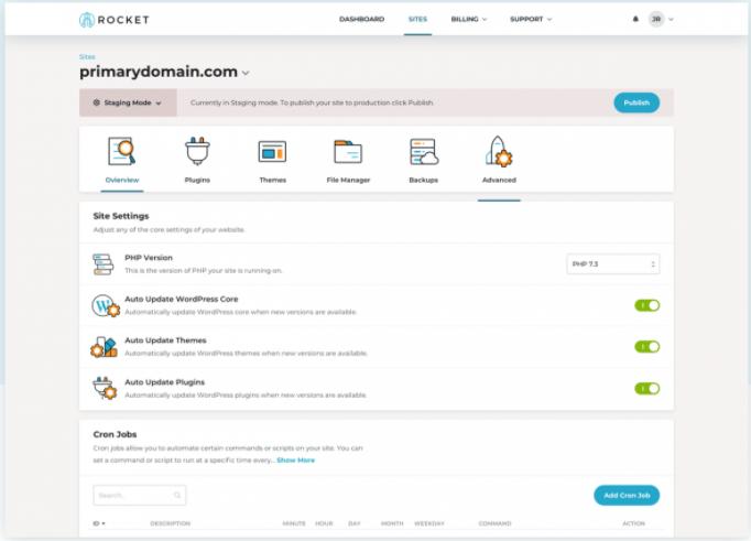 Rocket-net - WordPress Hosting