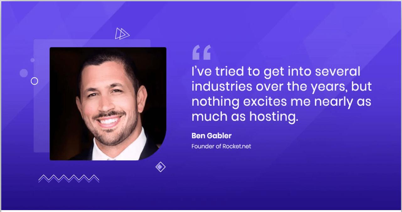 Rocket.Net Founder Ben Gabler